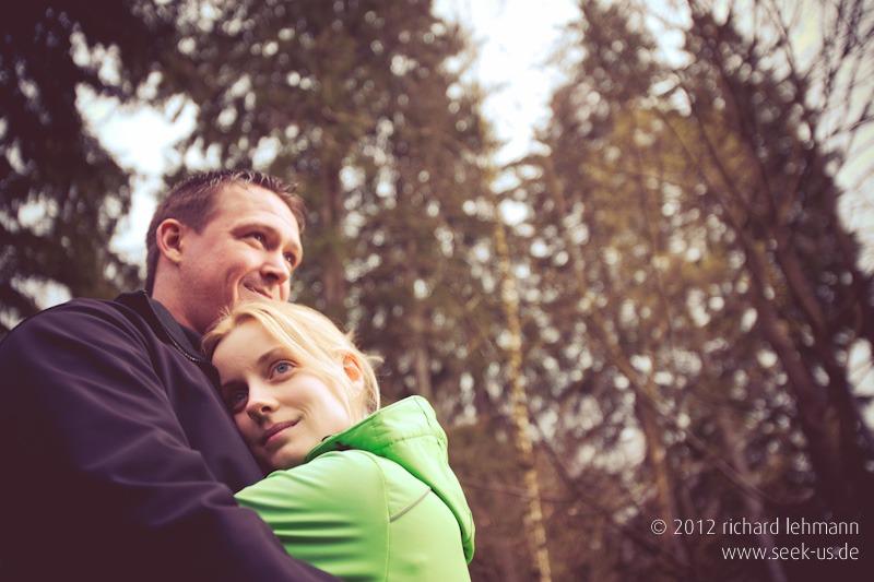 Hochzeitsfotografie Probeshooting Eva und Chris in Göttingen