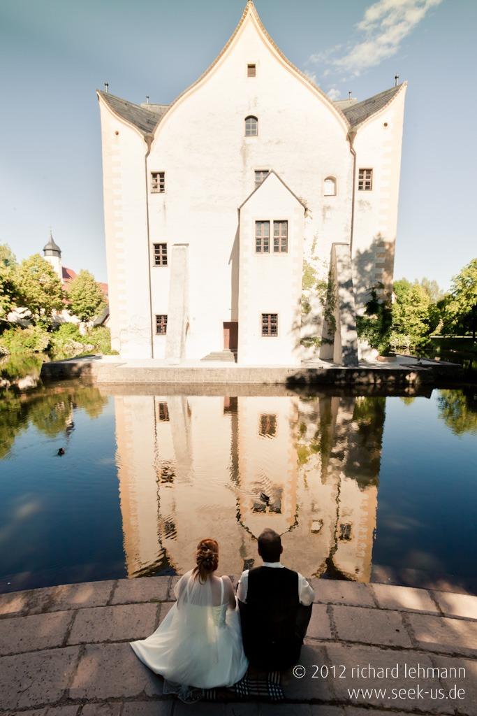 Hochzeitsfotografie Stephanie und Sven auf Schloss Klaffenbach