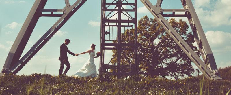 Als Hochzeitsfotograf in Freital mit Marie und Martin