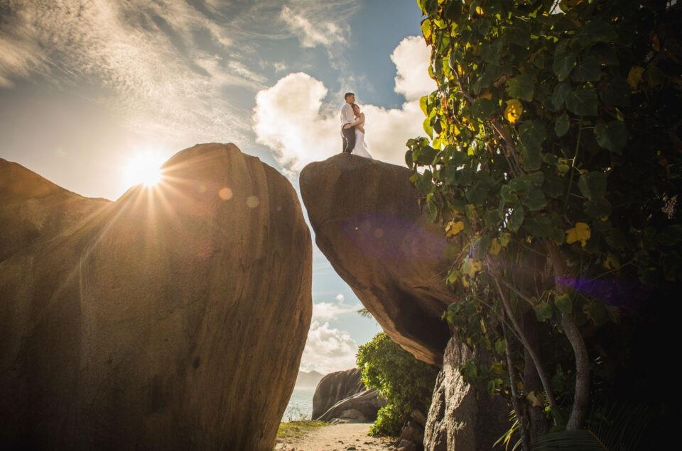 Destination Wedding auf den Seychellen