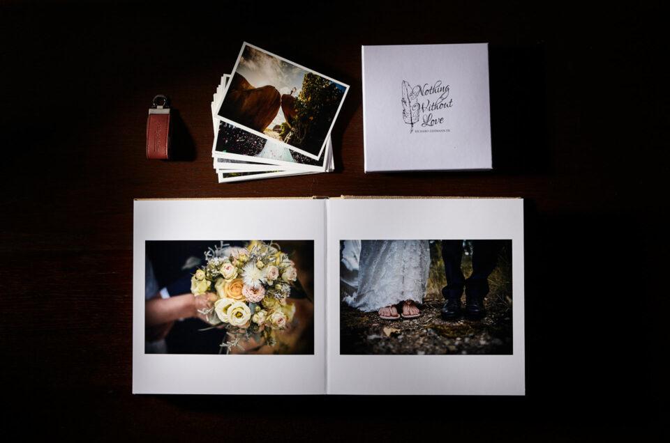 Wie ich meine Hochzeitsfotos überreiche