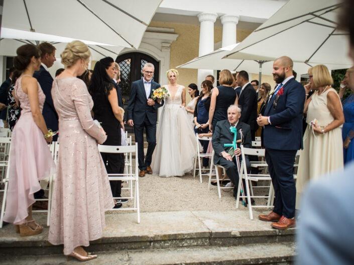 Als Hochzeitsfotograf auf Schloss Schweinsburg