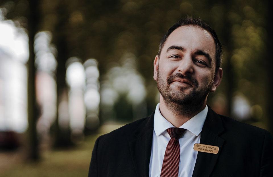 Hotelmanager Ronny Herzog vom Parkhotel Meerane